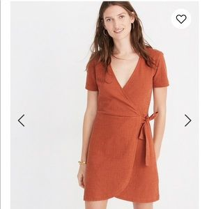 Madewell Texture and Thread Side Tie Dress Size M